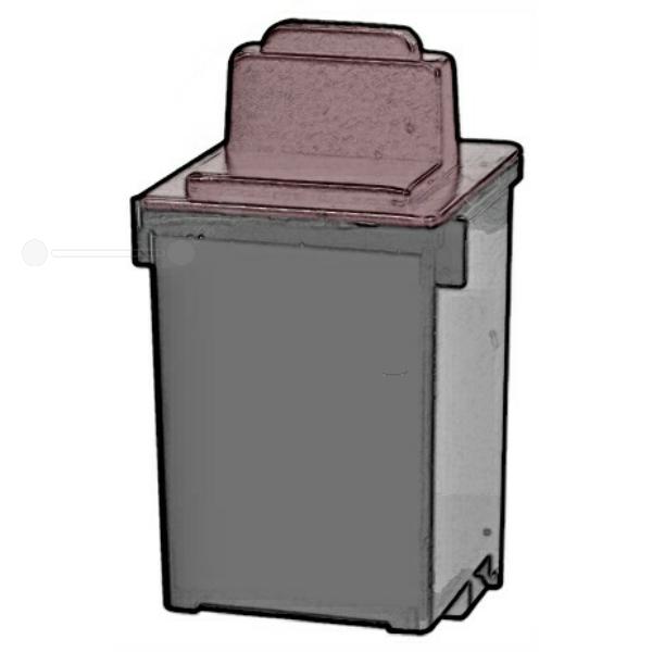 REF400HC Refill Tinte Black für Lexmark / 13400HCE / 21ml