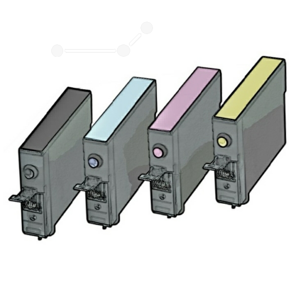 Multipack T0715 Alternativ Tinte für Epson / C13T07154010 / BK,C,M,Y11,4 ml (PATENT SAFE)