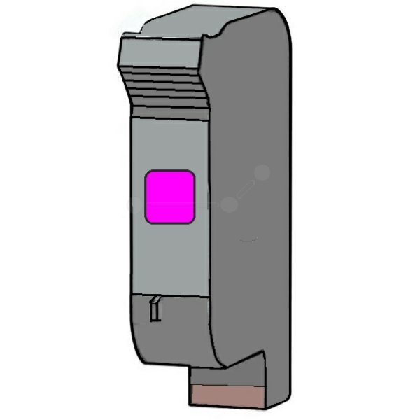 REF40M Refill Tinte Magenta für HP / 51640M / 42ml