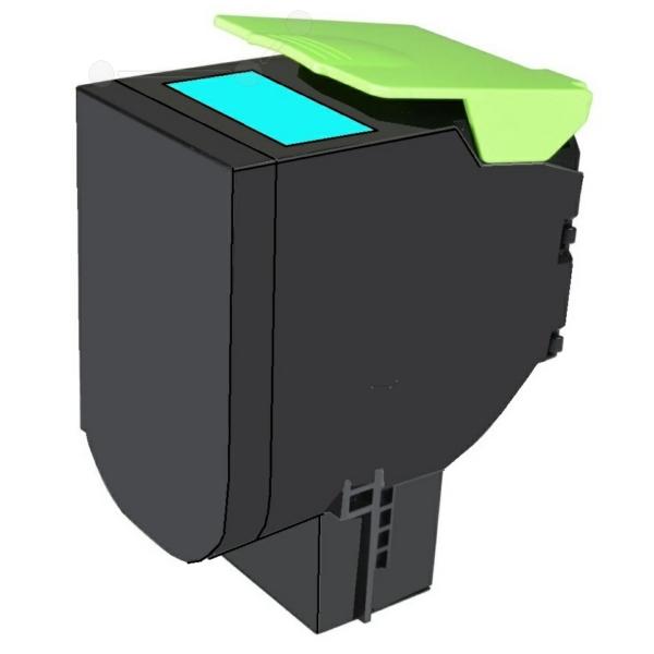 TONCX310 // Cyan // Toner f. Lexmark CX 310 / 410 / 80C2SCO / 2.000 Seiten