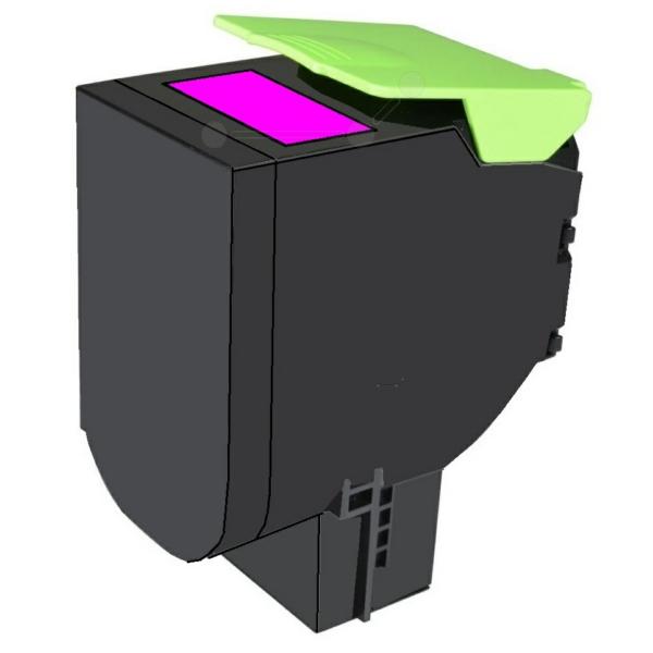 TONCX310 // Magenta // Toner f. Lexmark CX 310 / 4 / 80C2SMO / 2.000 Seiten