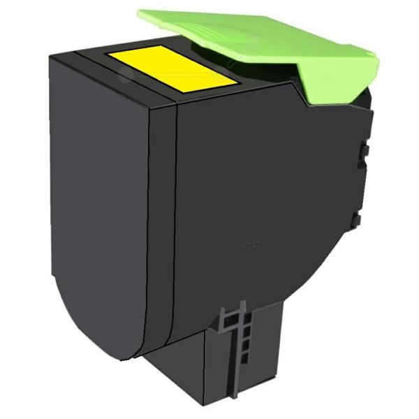 TONCX310 // Yellow // Toner f. Lexmark CX 310 / 41 / 80C2SYO / 2.000 Seiten
