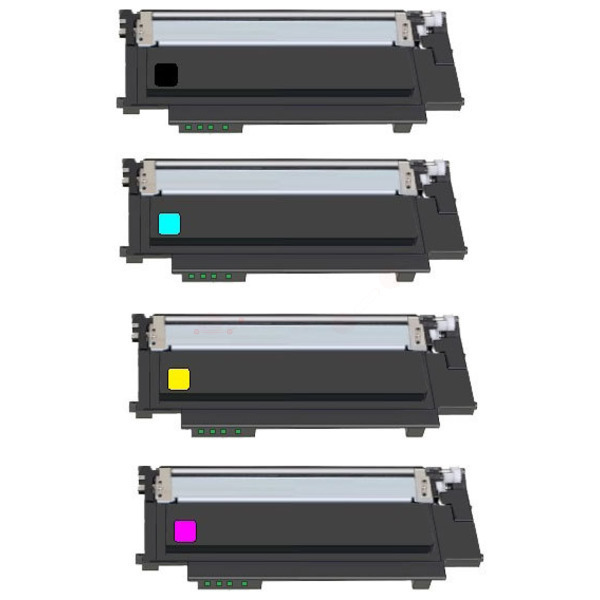 TONSLC430KIT Alternativ Toner Rainbowkit für Samsu / CLTP404C/ELS /BK/1.500 /(CMY)je x1.000 Seiten