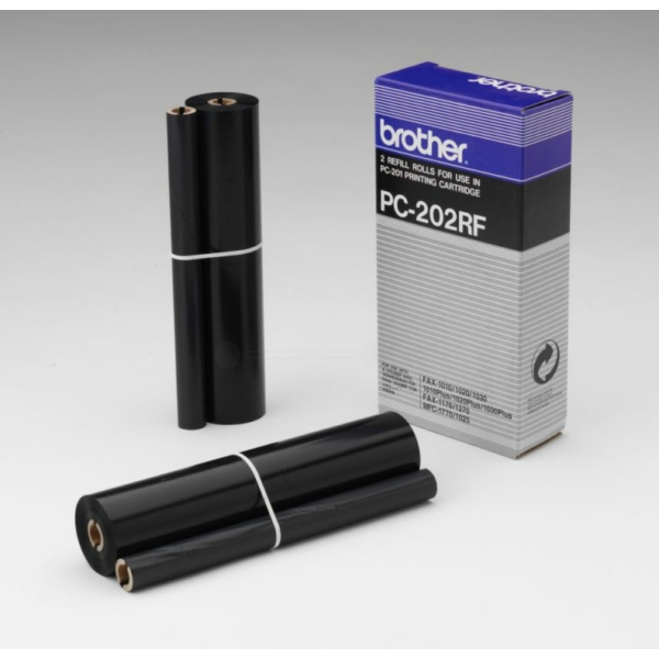 PC202RF // Black // original // Thermotransferroll / PC202RF