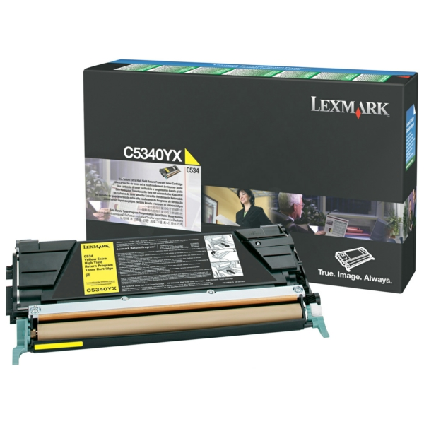 Lexmark Cartridge (C5340YX) Return Yellow  7k VE 1 / C5340YX