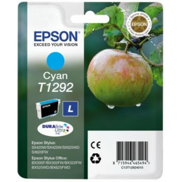 C13T12924012 / T1292 Original Tinte Cyan für Epson / C13T12924010 / C13T12924012 / 7ml