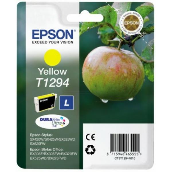 C13T12944012 / T1294 Original Tinte Yellow für Eps / C13T12944010 / C13T12944012 / 7ml