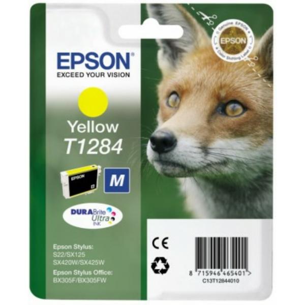 T1284 // C13T12844012 // Yellow // original // Tin / C13T12844011 // C13T12844012 / 3,5 ml