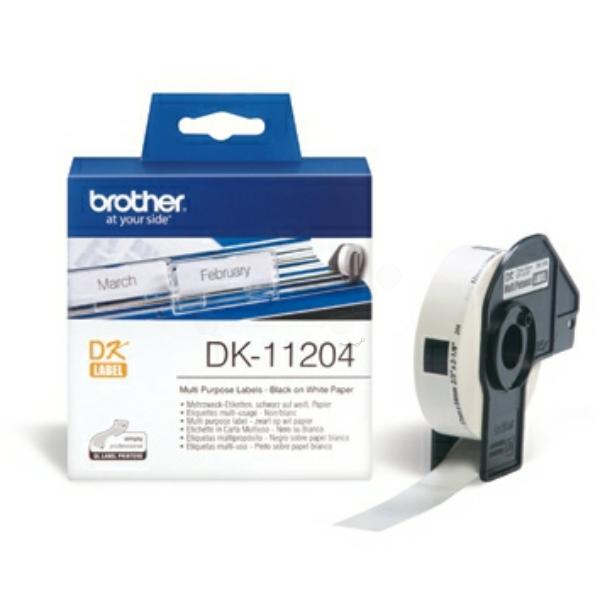 DK11204 // original // MehrzweckEtiketten f. Brot / DK11204