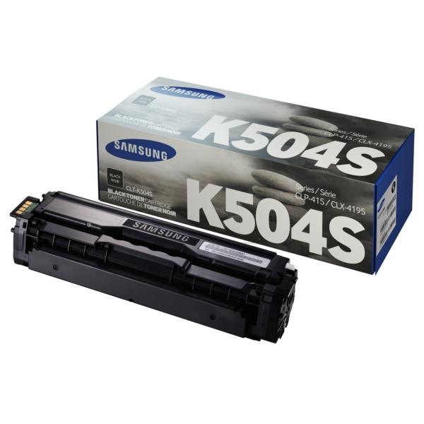 CLP415BK /CLTK504S/ELS Original Toner Black für S / CLTK504S/SU158A/ELS / 2.500 Seiten