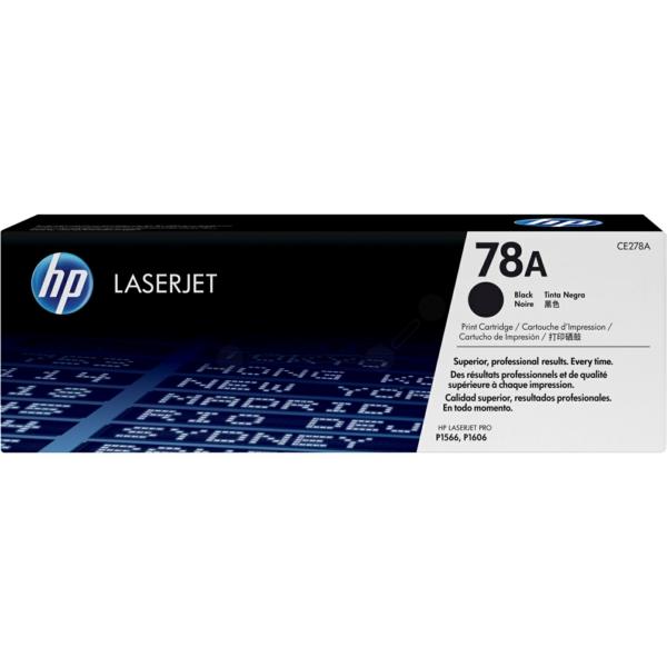 CE278A/78A Original Toner Black für HP LASERJET / 78A/ CE278A / 2.100 Seiten