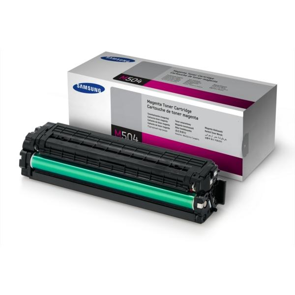 CLP415M /CLTM504S/ELS Original Toner Magenta  / CLTM504S/SU292A/ELS / 1.800 Seiten