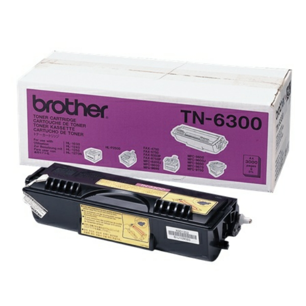 TN6300 // Black // original // Toner f. Brother HL / TN6300 / 3.000 Seiten