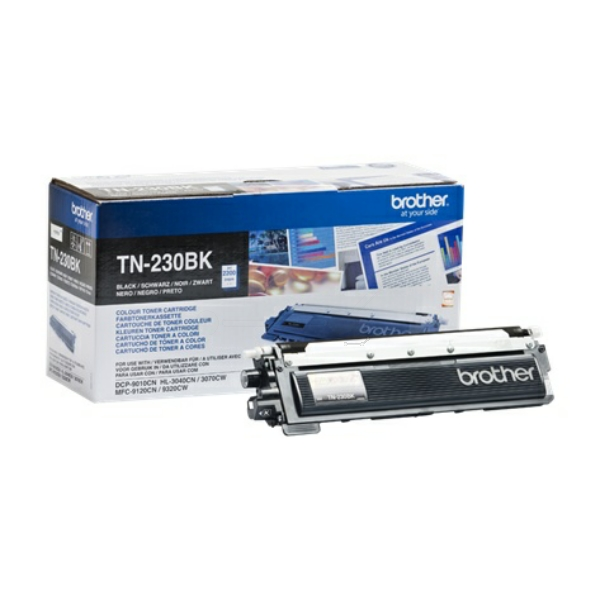 TN230BK Original Toner Black für Brother / TN230BK / 2.200 Seiten