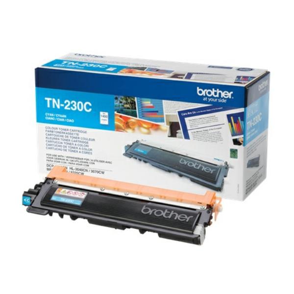 TN230C Original Toner Cyan für Brother HL / TN230C / 1.400 Seiten