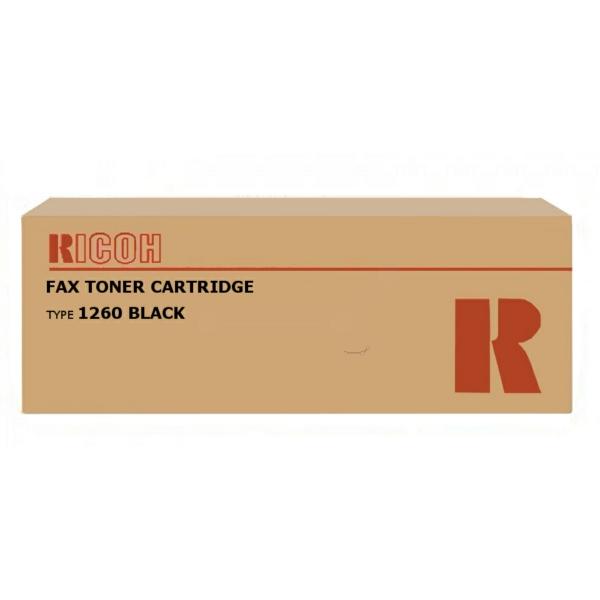 430351 // TYP 1260 Ricoh black Lasertoner f. Fax L / 430351 / 5.000 Seiten