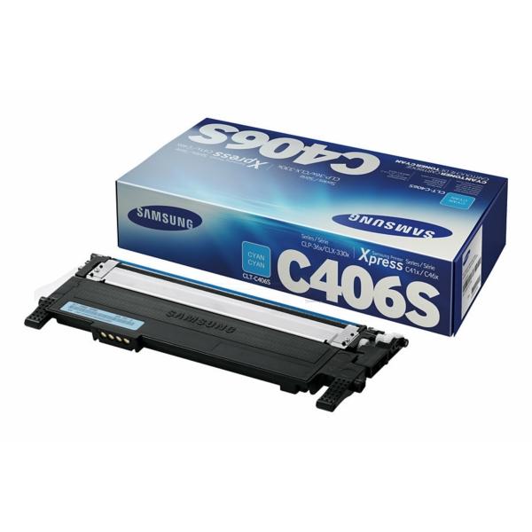 CLP360C /CLTC406S/ELS Original Toner Cyan für Sa / CLTC406S/ST984A/ELS /CLP360C/ 1.000 Seiten