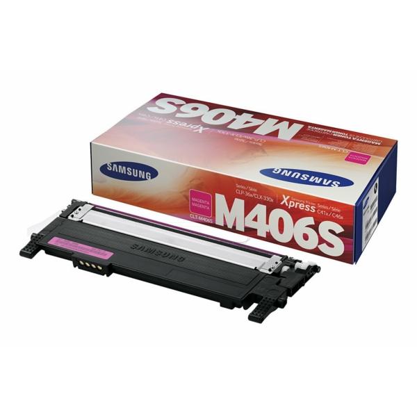 CLP360M /CLTM406S/ELS Original Toner Magenta  / CLTM406S/SU252A/ELS /CLP360M/ 1.000 Seiten