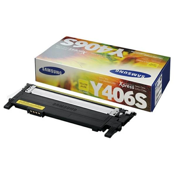 CLP360Y /CLTY406S/ELS Original Toner Yellow   / CLTY406S/SU462A/ELS /CLP360Y/ 1.000 Seiten