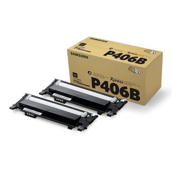 CLP360K/CLTP406B/ELS /Original Twin Toner Black  / CLTP406BELS/SU374A / 2 x 1.500 Seiten