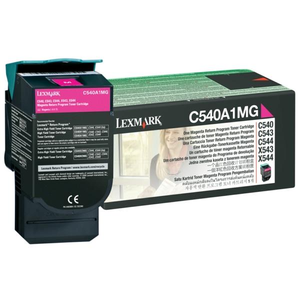 C540A1MG // Magenta // original // Toner f. Lexmar / C540A1MG / 1.000 Seiten