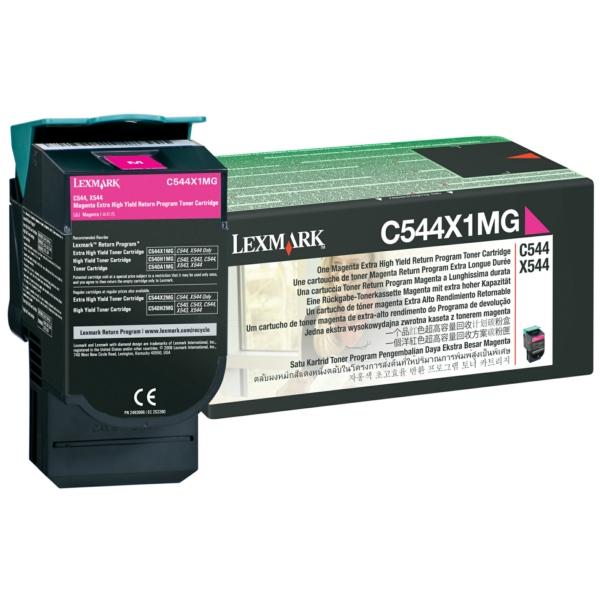 C544X1MG // Magenta // original // Toner f. Lexma4 / C544X1MG / 4.000 Seiten