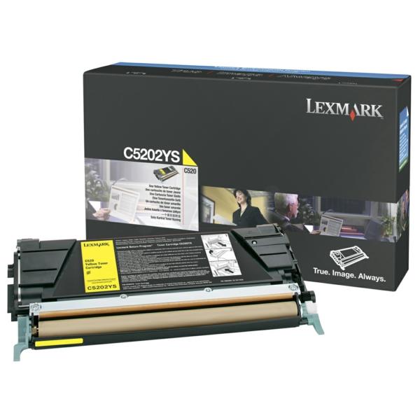 C5202YS LEXMARK C530 TONER YELLOW / C5202YS