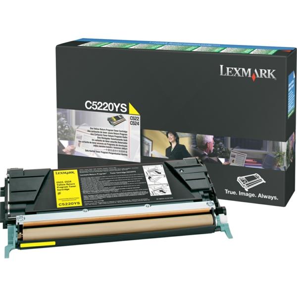 C5220YS // Yellow // original // Toner f. Lexmark / C5220YS / 3.000 Seiten