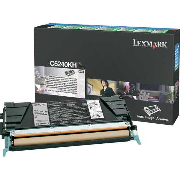 C5240KH // Black // original // Toner f. Lexmark C / C5240KH / 8.000 Seiten