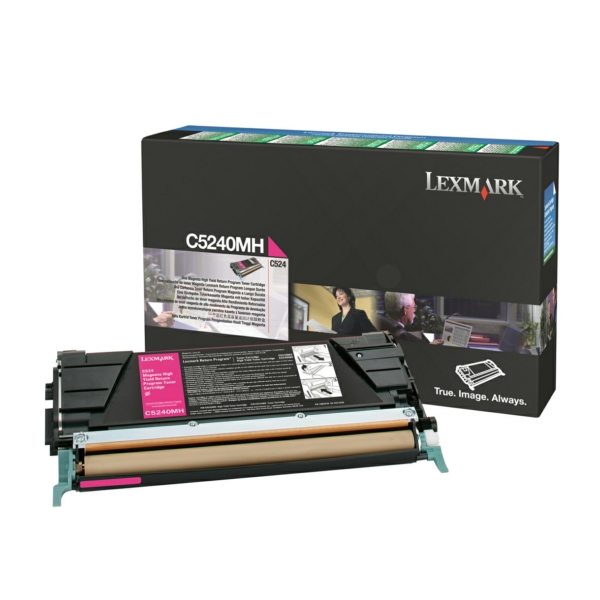 C5240MH // Magenta // original // Toner f. Lexmark / C5240MH / 5.000 Seiten
