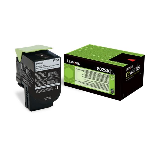 Lexmark Return Print Cart. 80C2SKE für CX310dn/n/C / 80C2SKE