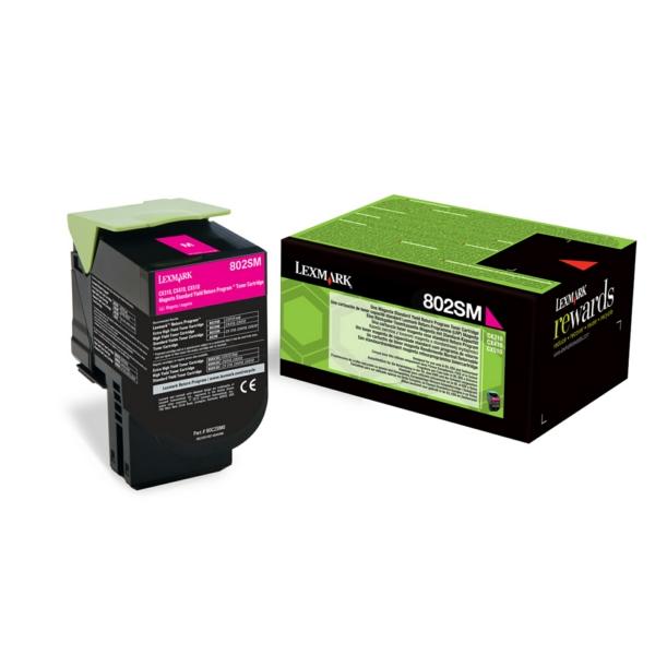 Lexmark Return Print Cart. 80C2SME für CX310dn/n/C / 80C2SME