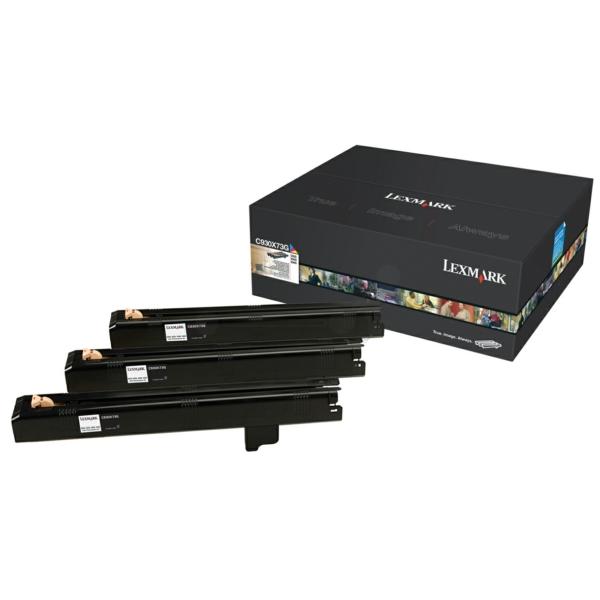 C930X73G // original // Lexmark Fotoleiter color / C930X73G / f. C935 / X940 / 945 // 3x47.000 Seiten