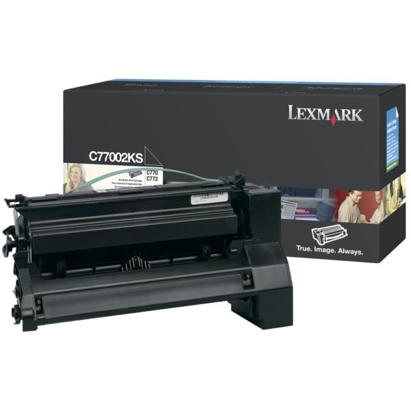 C5220KS // Black // original // Toner f. Lexmark C / C5220KS / 4.000 Seiten