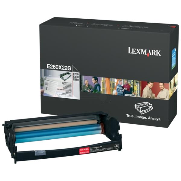 E260X22G Original Trommel für Lexmark Optra E / E260X22G / 30.000 Seiten