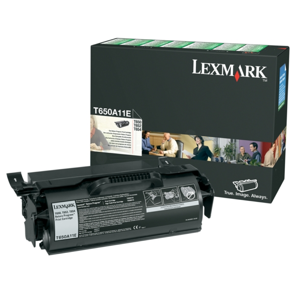 T650A11E Original Toner Black für LexmarkT650 / T650A11E / 7.000 Seiten