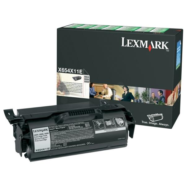 X654X11E Original Toner Black für Lexmark / X654X11E / 36.000 Seiten