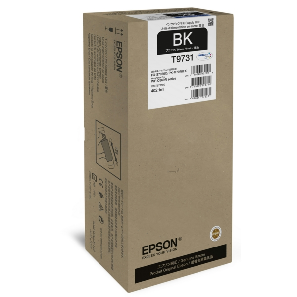 C13T973100 EPSON WFC869R TINTE BLACK XL / C13T973100