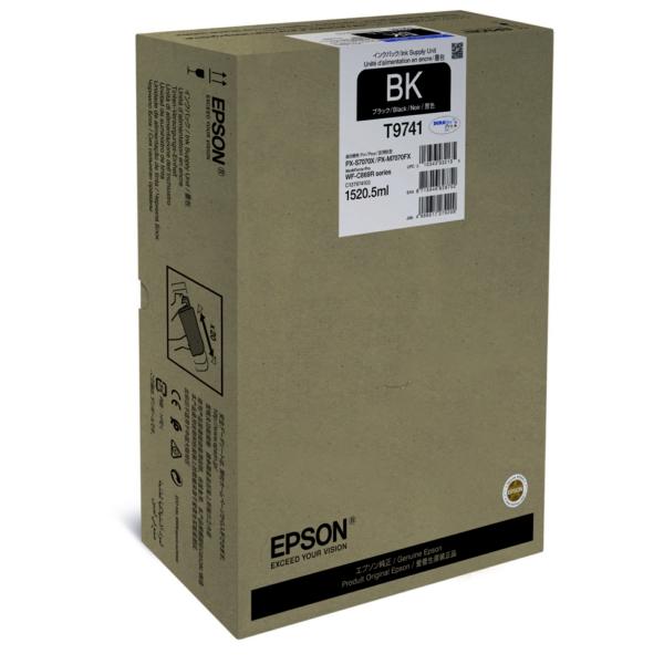 C13T974100 EPSON WFC869R TINTE BLACK EHC / C13T974100