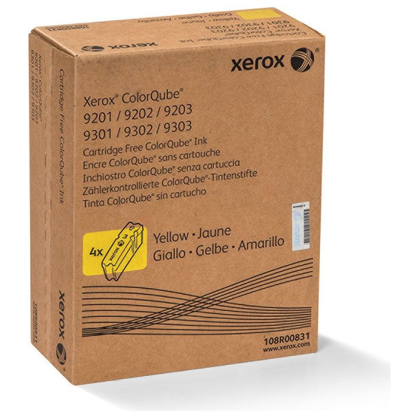 XEROX ColorQube gelb Standardkapazität 9.250 Seite / 108R00835