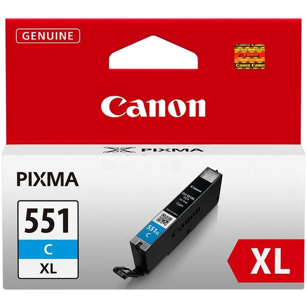 6444B001 / CLI551XLC Original Tinte Cyan für Cano / 6444B001 / 11 ml