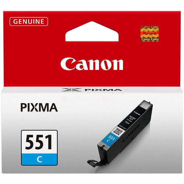 6509B001 / CLI551C Original Tinte Cyan für Canon / 6509B001 / 7ml