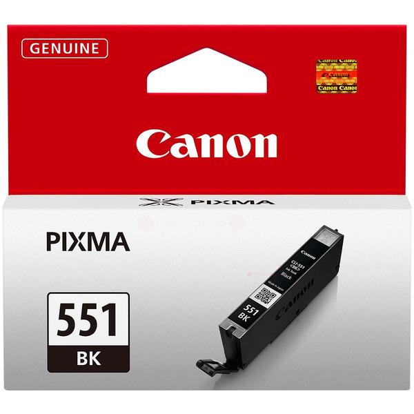 6508B001 / CLI551BK Original Tinte Black für Cano / 6508B001 / 7ml
