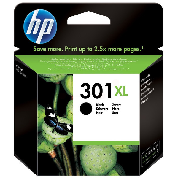 CH563EE / Nr.301XLBK Original Tinte Black für HP / CH563EE / 8 ml